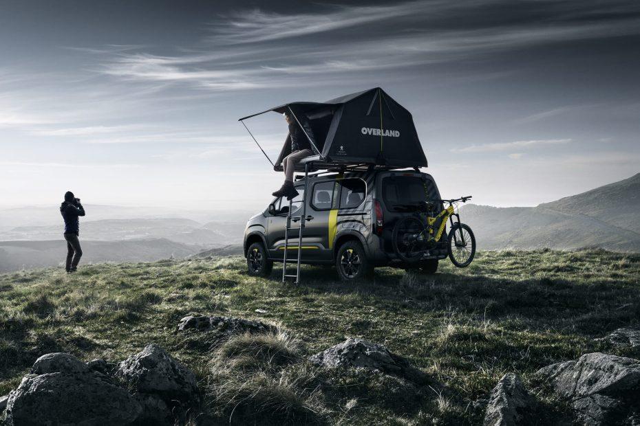 Ahora la tienda de campaña del Peugeot Rifter 4×4 Concept puede ser tuya ¿Listo para la aventura?