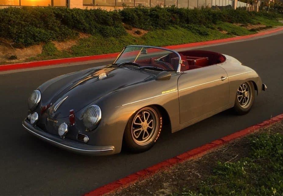 Este Porsche 356 A Speedster es una réplica de lo más molona ¡Y toda una ganga!