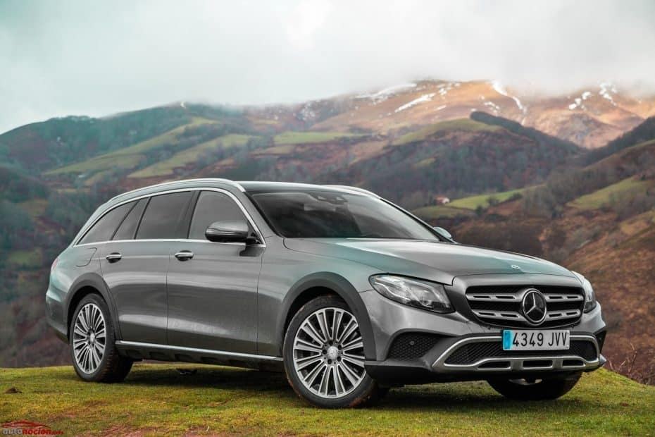 Prueba Mercedes-Benz E 220 d 4MATIC All-Terrain: Superior a la variante familiar convencional