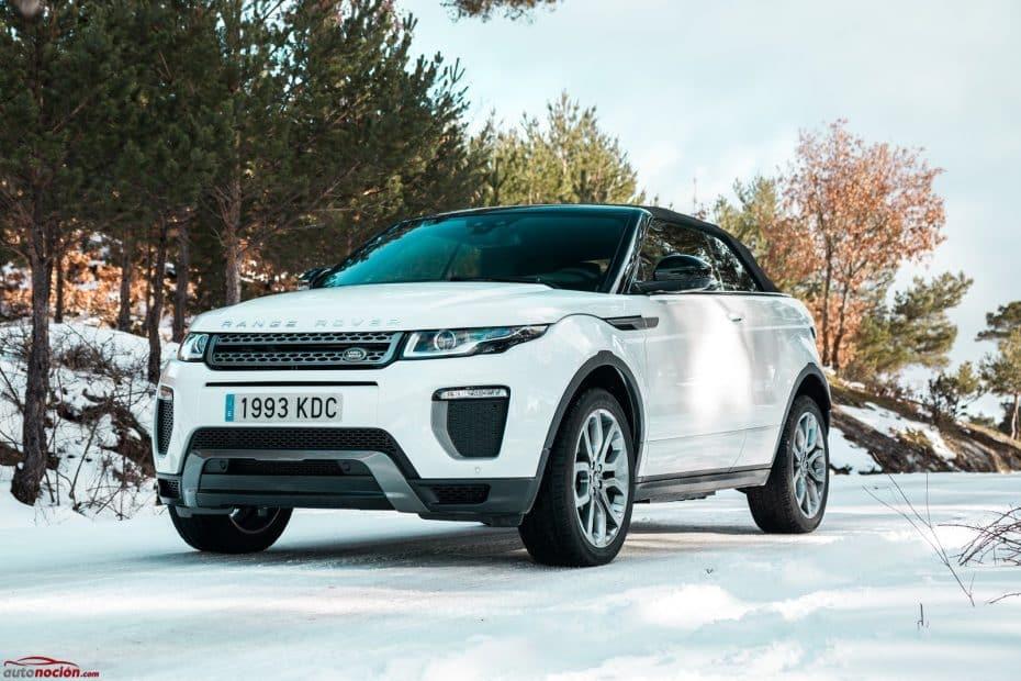 Prueba Range Rover Evoque Convertible 2.0 Td4 150 CV 4×4 Auto SE Dynamic: No es perfecto, pero enamora