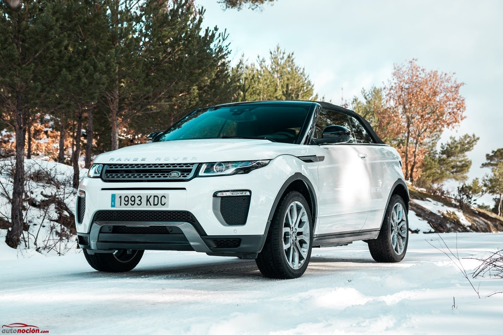 opini n y prueba range rover evoque convertible 2 0 td4 150 cv 4x4 auto se dynamic. Black Bedroom Furniture Sets. Home Design Ideas