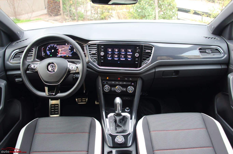 Opini n y prueba volkswagen t roc 2 0 tdi 150 cv 4motion for Interior volkswagen t roc