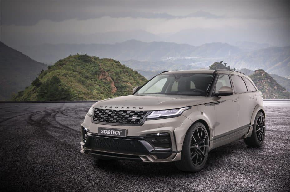 El Range Rover Velar ahora más ancho y salvaje gracias a Startech