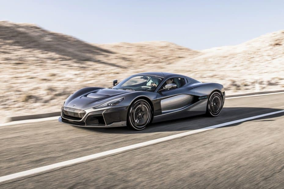 Rimac C_Two: El rival real del Tesla Roadster tiene 1.914 CV, reconocimiento facial y llegará este mismo año