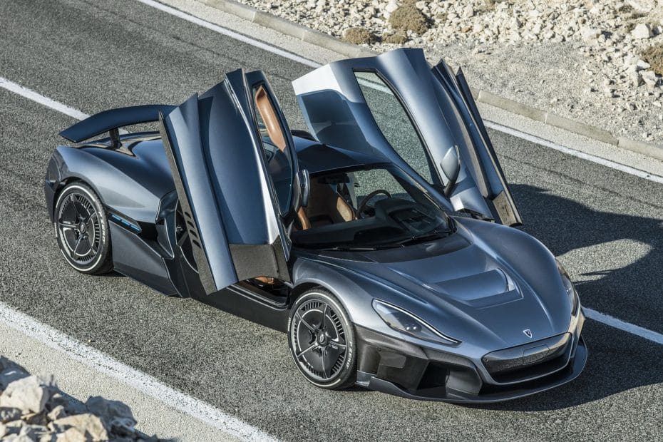 Porsche adquiere un 10% de Rimac ¿Quiere el futuro Taycan parecerse al increíble Rimac C_Two?