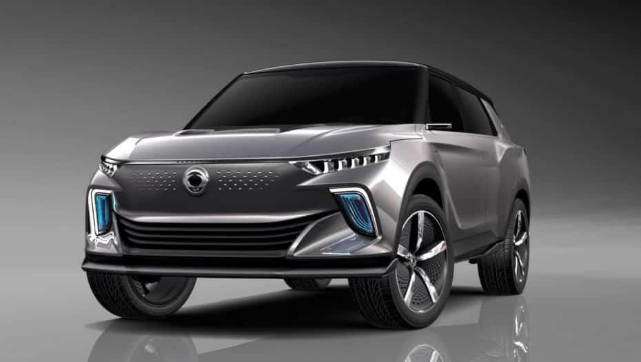 SsangYong e-SIV: El «as» bajo la manga de los coreanos cuenta con 450 km de autonomía eléctrica