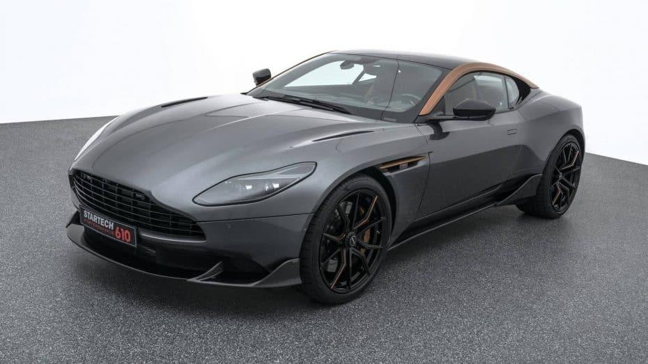 Startech nos trae un Aston Martin DB11 más potente y salvaje con 610 CV «Powered by BRABUS»
