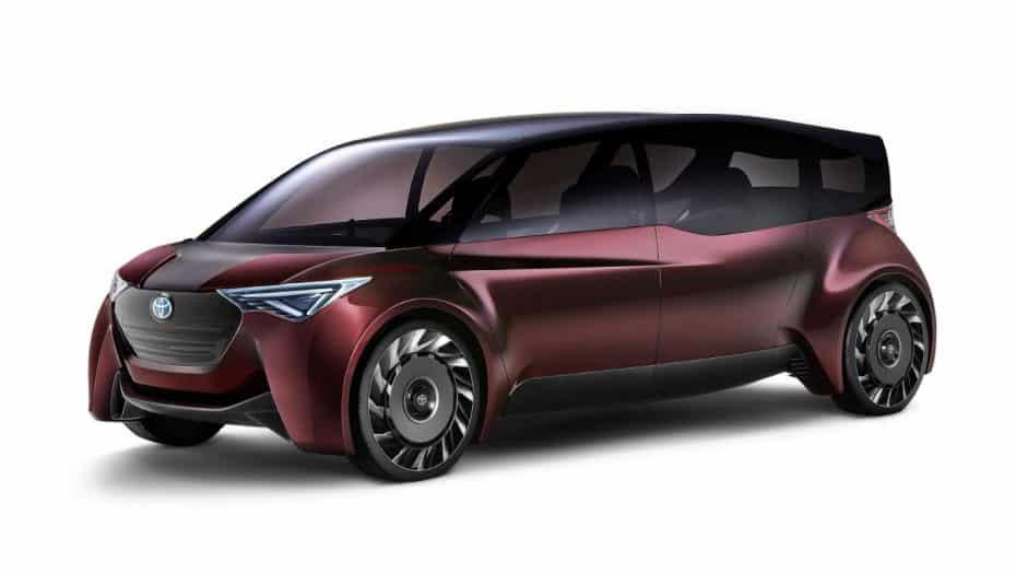 TOYOTA FINE-Comfort Ride: Un concept de 6 plazas con pila de combustible
