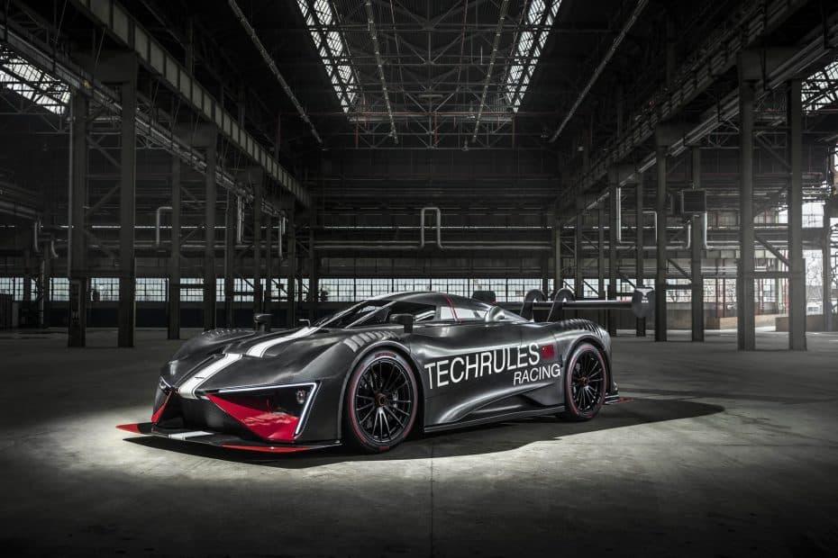 ¡Oficial! Techrules REN RS: Una auténtica locura para circuito con 1.287 CV y 2.340 Nm de par