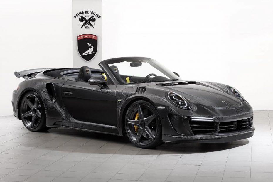 TopCar presenta el Stinger GTR Carbon Edition: Un Porsche 911 bañado en oro y fibra de carbono