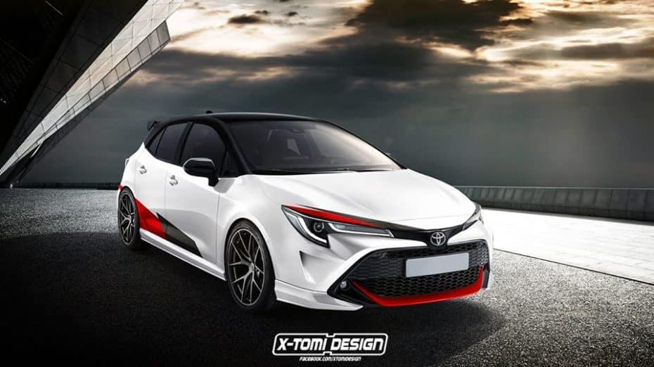 ¿Llegaremos a ver una versión más prestacional del Toyota Auris 2018? Ojo a este render del Auris GRMN