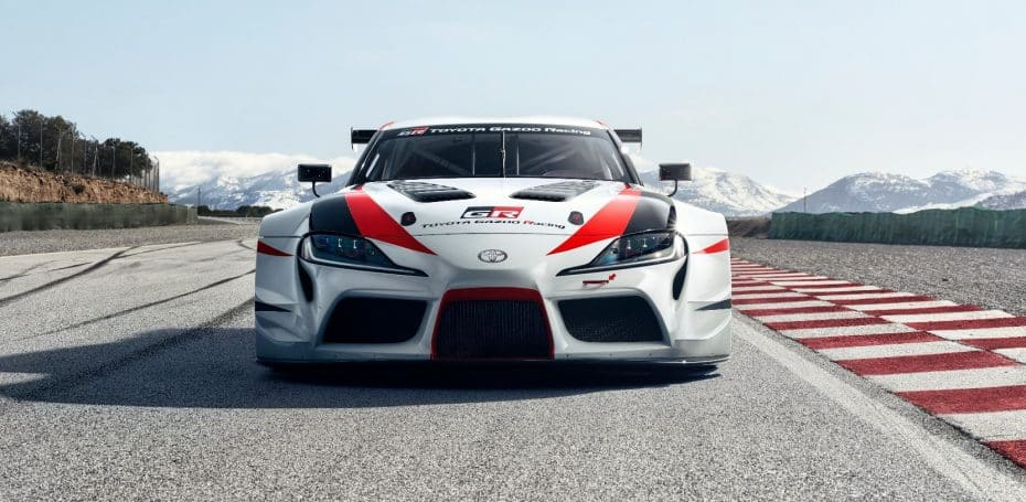 ¡El Toyota Supra está de vuelta!: Así es el GR Supra Racing Concept