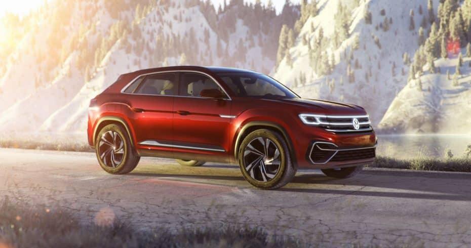 Volkswagen Atlas Cross Sport PHEV: Será realidad en 2019
