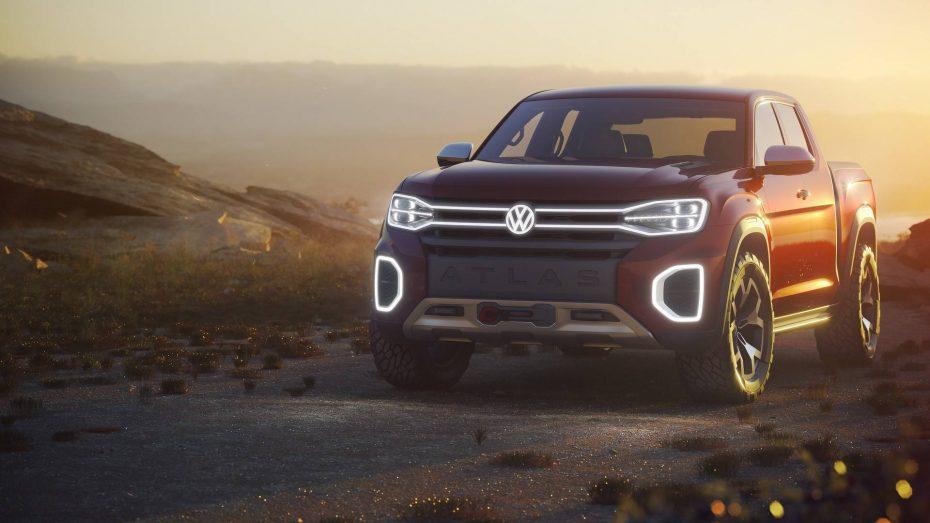 Volkswagen Atlas Tanoak: Un pick up realmente atractivo que puede que nunca llegue a producción