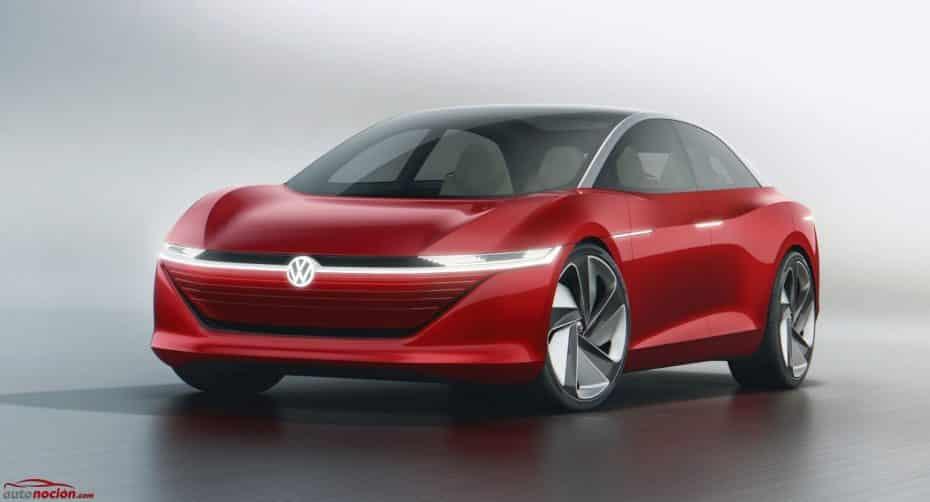 ¡Oficial! Así es el Volkswagen I.D. VIZZION: Hasta 655 kilómetros de autonomía y 100% autónomo