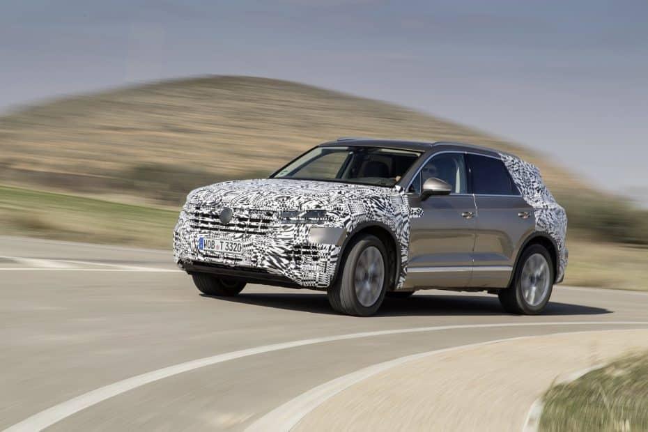 Nuevas imágenes del Volkswagen Touareg 2018: Tecnología, elegancia y pantallas de hasta 15 pulgadas