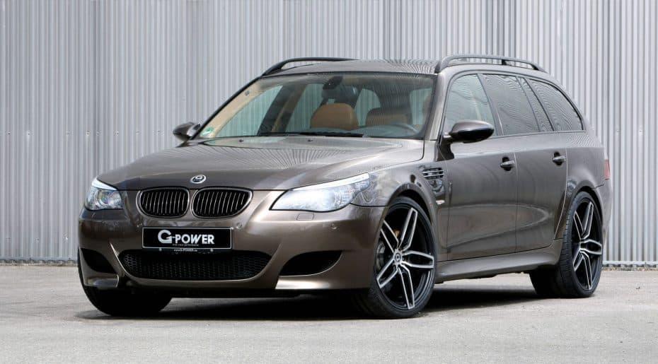Este BMW M5 E61 esconde en su interior un auténtico monstruo… y G-Power es el responsable