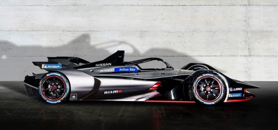 Así es el Fórmula E de Nissan: Empezará a competir a final de año