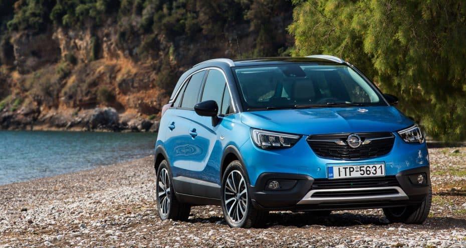 El Opel Crossland X supera los 100.000 pedidos: En solo un año