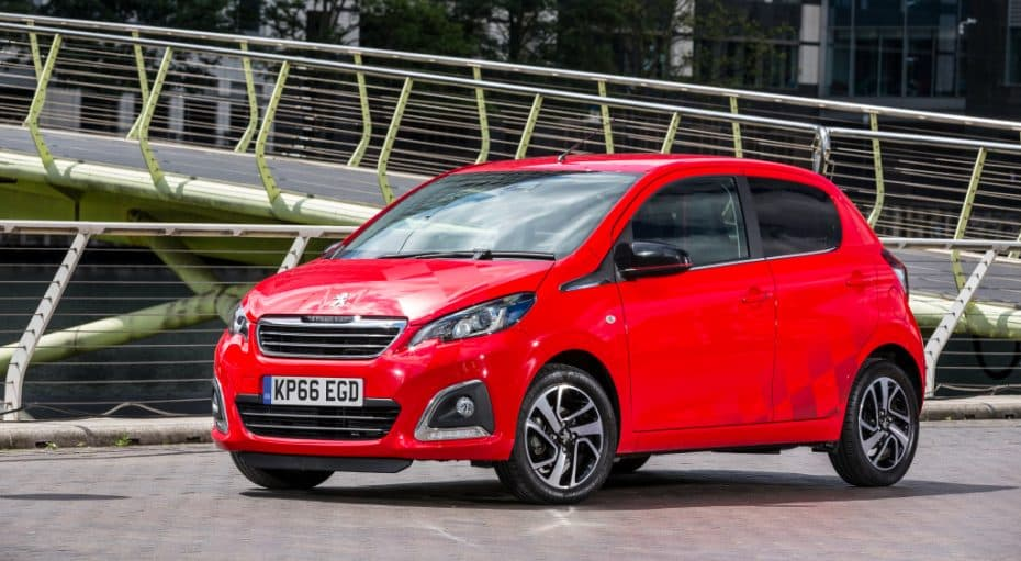 Peugeot España lanza la gama 108 MY2018: Estrena motor de un litro