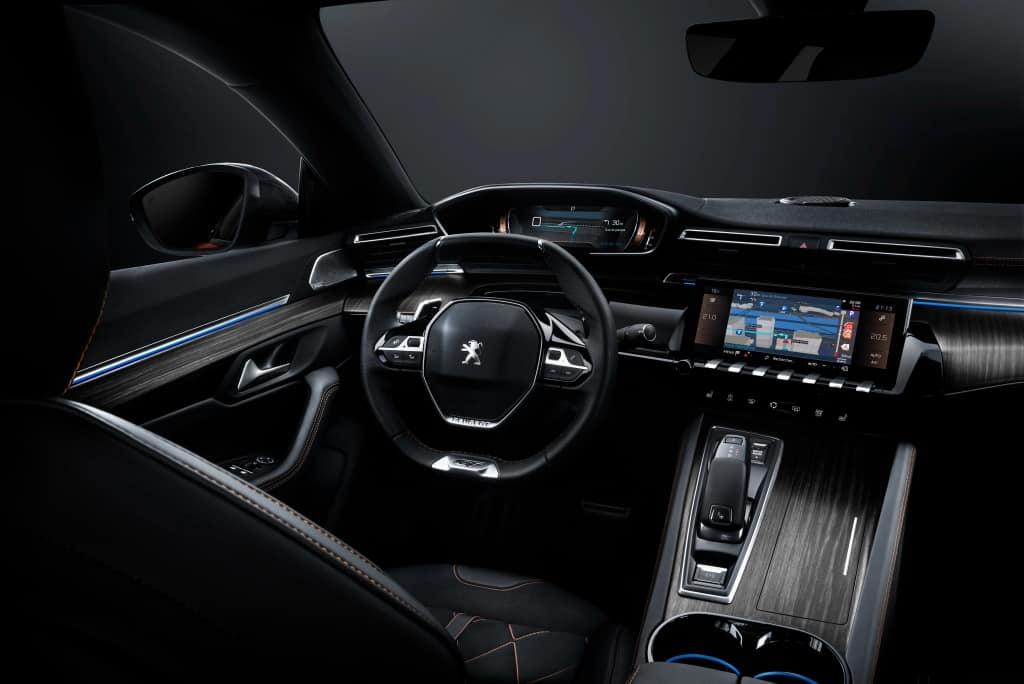 Nuevo peugeot 508 first edition ya a la venta en for Interieur 508