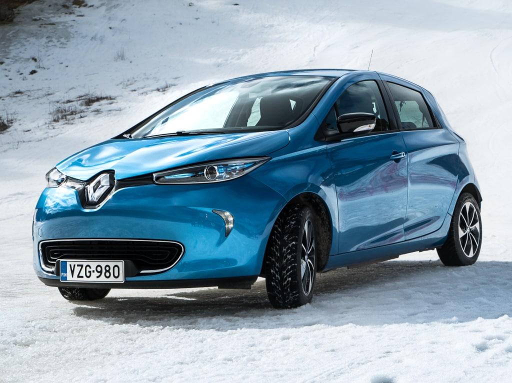 El Renault Zoe es uno de los coches eléctricos más baratos