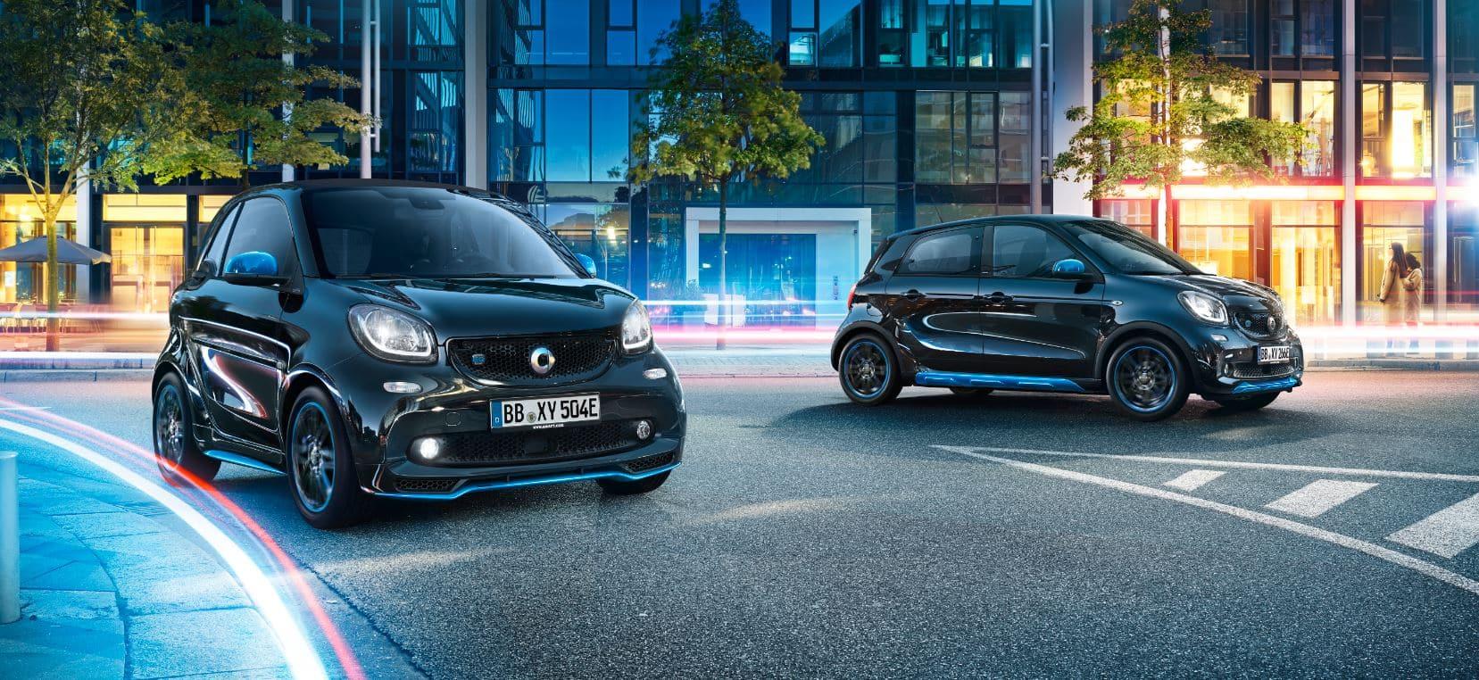 Los Smart son de los coches eléctricos más baratos que puedes encontrar en España