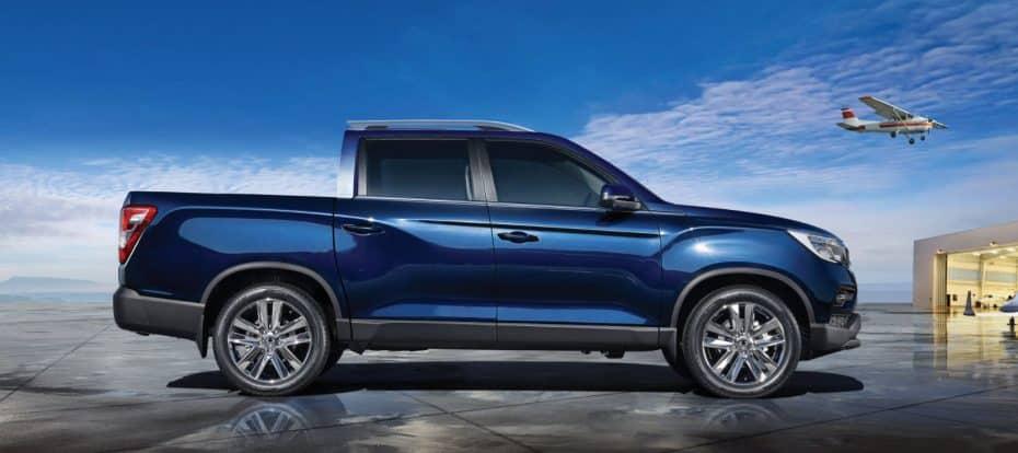 Nuevo SsangYong Musso: Un pickup basado en el Rexton que tiene muy buena pinta