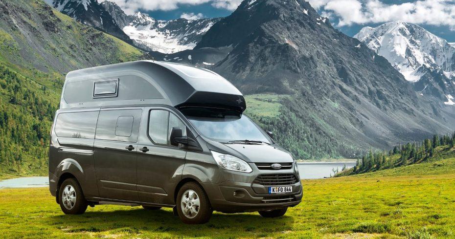 Te presentamos el 'Nugget Plus', un Ford Transit creado para viajar con la casa a cuestas