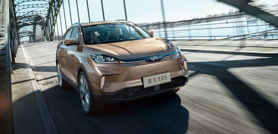 WM presenta en Pekín el nuevo EX5: 600 km de autonomía eléctrica