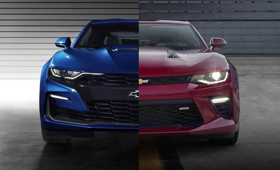 Comparación visual: Juzga tú mismo cuánto ha cambiado el nuevo Chevrolet Camaro