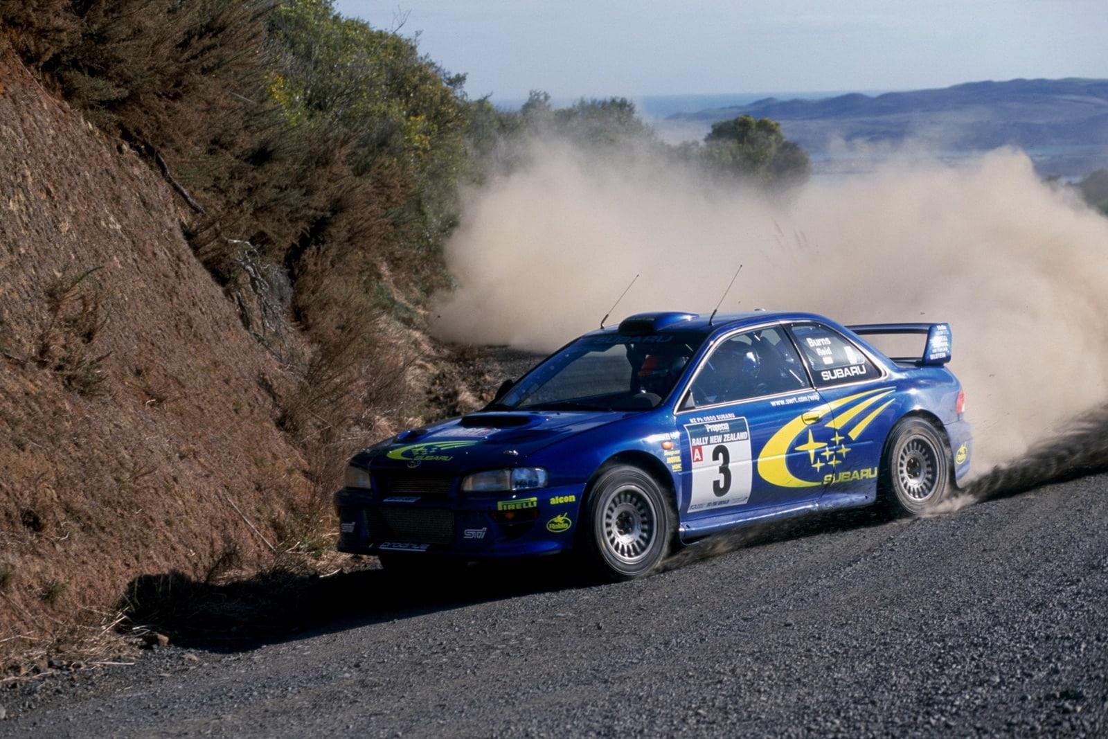 Subaru STI entró en un mundial de rally en 1980