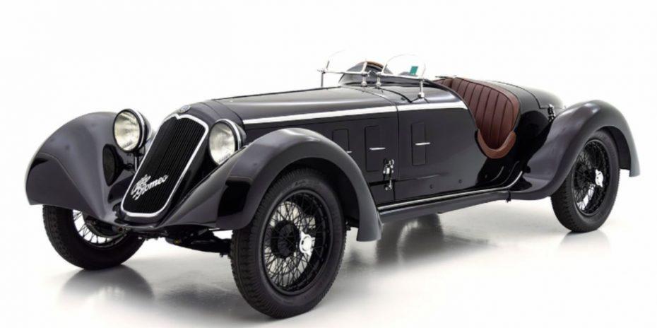 Alfista, atento a este Alfa Romeo 6C de 1929 y a su exclusividad…