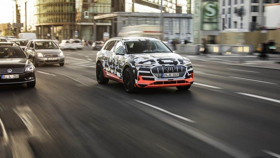 El Audi e-tron que veremos a finales de año tendrá una batería de 95 kWh y dos motores eléctricos
