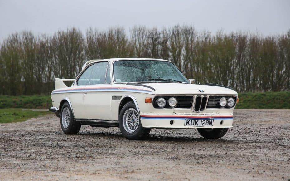 A subasta un rarísimo BMW 3.0 CSL 'Batmobile' ¡Y conserva su estado original!