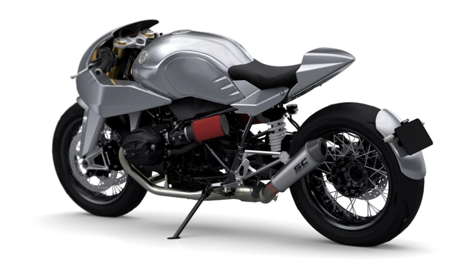 El último kit de Dab Designs convierte la BMW R nineT en una máquina ...