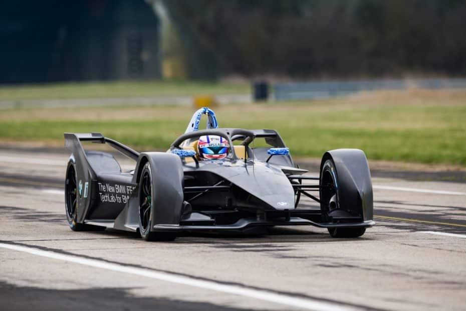 BMW iFE.18: Así es el primer monoplaza 100% eléctrico de BMW para la Fórmula E