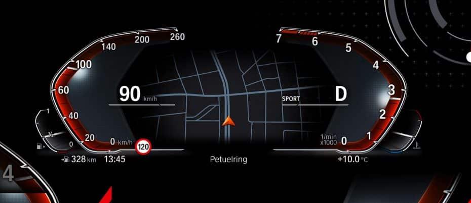 Así es el nuevo cuadro de instrumentos 100% digital de BMW: Debutará a finales de año en el nuevo BMW X5