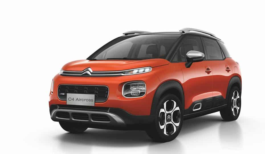 Primeras imágenes del Citroën C4 Aircross: Casi igual a nuestro «C3 Aircross»