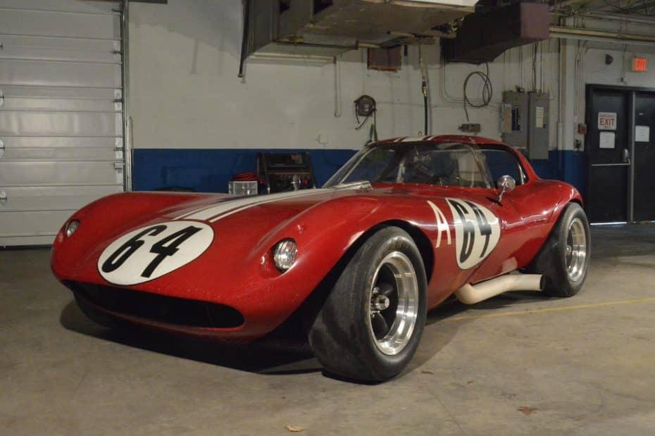 A subasta este Cheetah de 1963: Un coche de carreras único con una gran historia