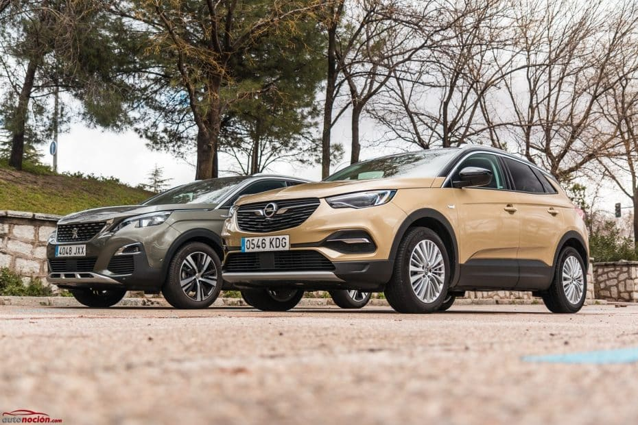 Comparativa Opel Grandland X vs. Peugeot 3008: Las dos caras de una misma moneda