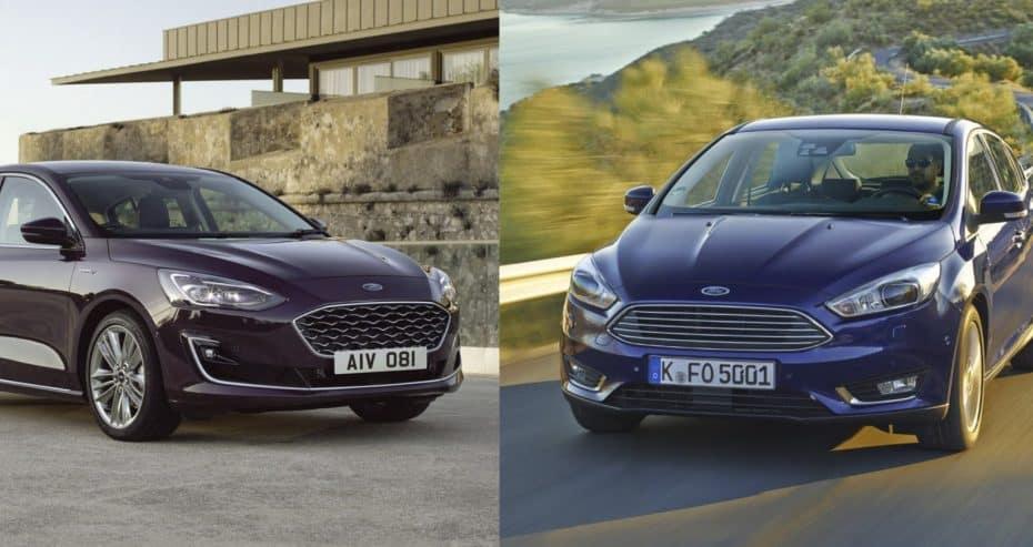 Comparación visual: Juzga tú mismo cuánto ha cambiado el nuevo Ford Focus