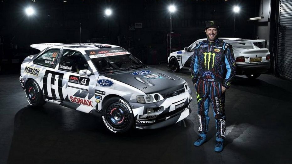 Dile adiós al Ford Escort Cosworth de Ken Block: Calcinado tras un accidente