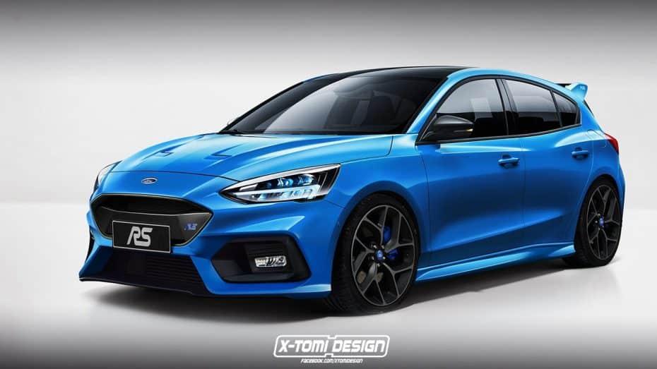 ¿Como serán las versiones más picantes del nuevo Ford Focus? Vamos abriendo boca con los RS y ST