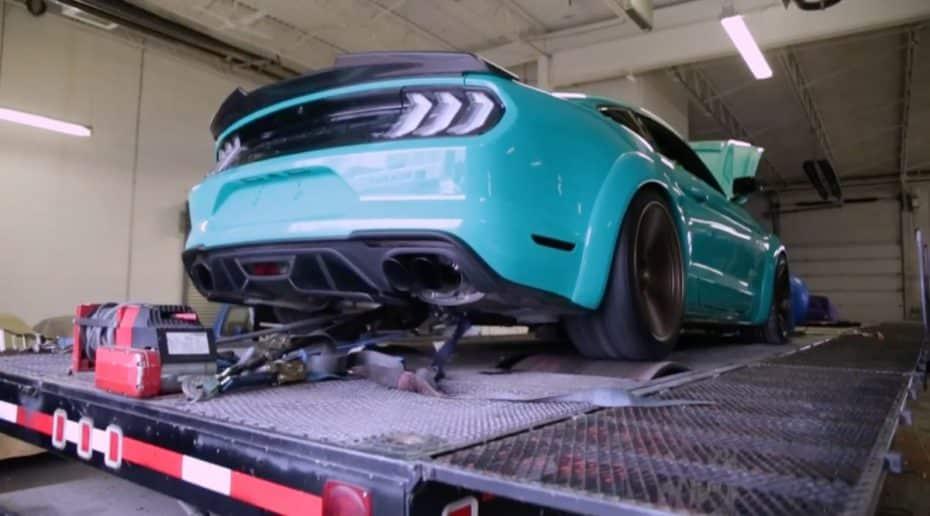 ¿Buscas un extra de potencia para tu Mustang GT? Este kit de Roush Performance es lo que estás buscando