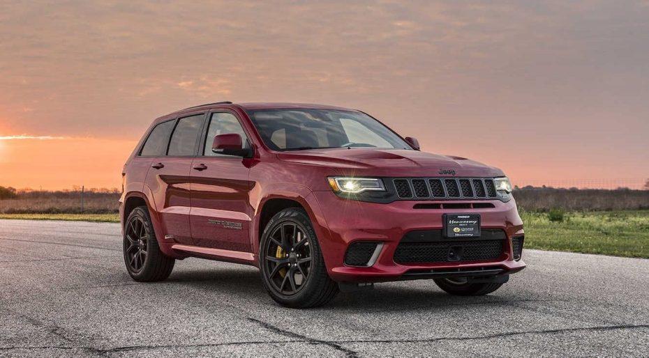 Hennessey HPE850: Ahora el Jeep Grand Cherokee Trackhawk con hasta 850 CV