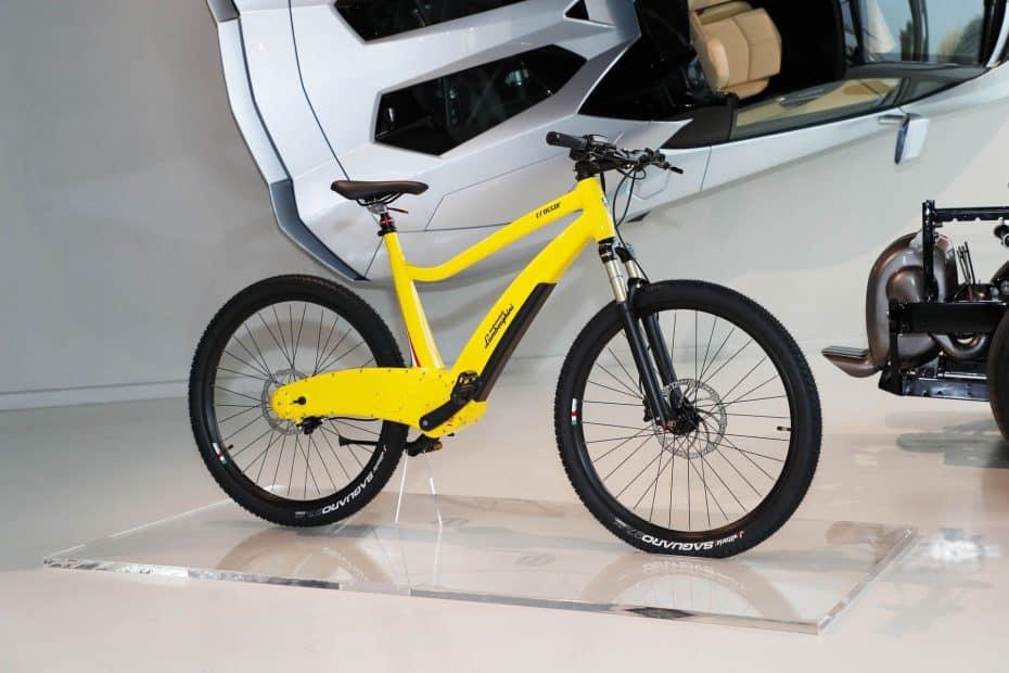 ¿Buscas una bicicleta eléctrica y con diseño italiano? Lamborghini tiene la solución
