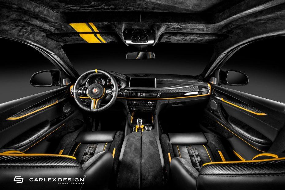 ¿Recuerdas el BMW X6 M de Manhart? Pues ahora Carlex Design ha dado su toque al interior