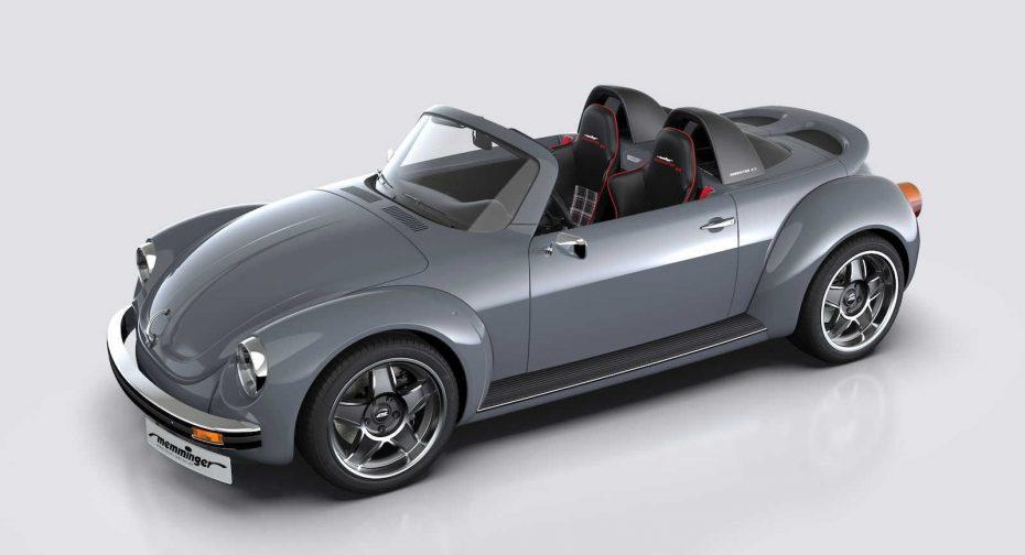 ¿Eres un nostálgico del Beetle? El Memminger Roadster 2.7 te enamorará desde el principio