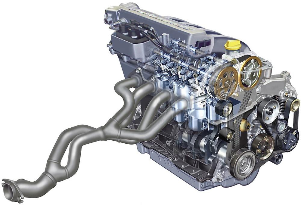 Un mejor escape mejora la eficiencia general del motor